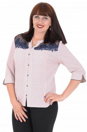 Alenka Plus: Блуза 1536-15 - главное фото