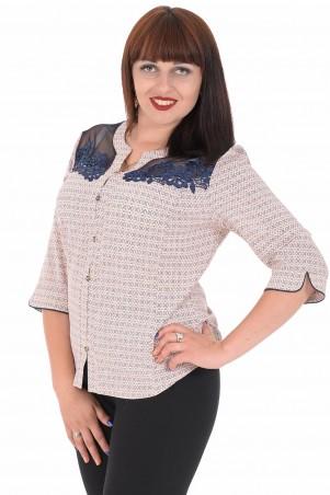 Alenka Plus: Блуза 1536-16 - главное фото