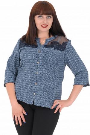 Alenka Plus: Блуза 1536-12 - главное фото