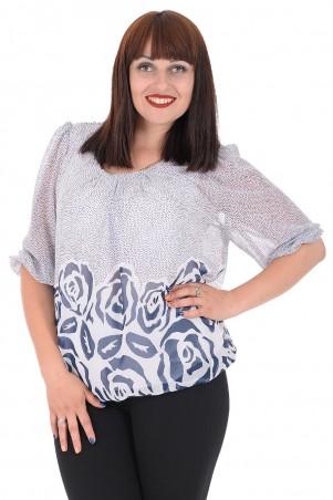 Alenka Plus: Блуза Офелия 44-1 - главное фото