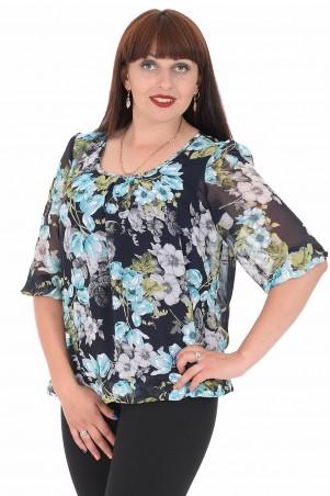 Alenka Plus: Блуза Офелия 45 - главное фото