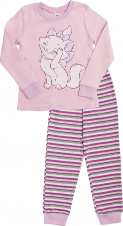 Valeri-Tex. Пижама для девочки. Артикул: 1786-55-191-006-1