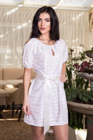 Sauliza. Платье Анабель белый. Артикул: 780