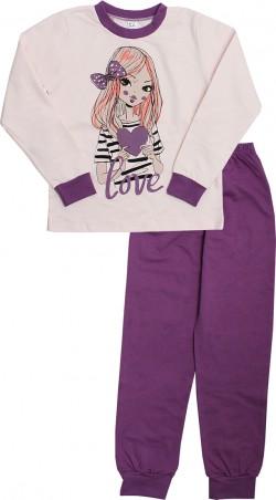 Valeri-Tex. Пижама для девочки. Артикул: 1770-55-155-006-1
