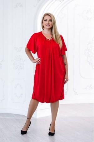 Juliana Vestido. Платье Сабина красное. Артикул: 2827