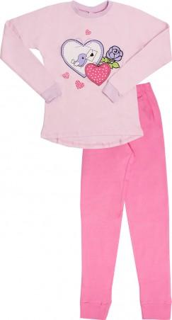 Valeri-Tex. Пижама для девочки. Артикул: 1836-55-090-006-2