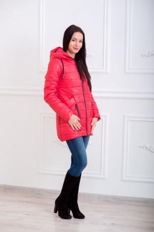 WearMe. Куртка женская коралловая Канада 2w/02/43. Артикул: 3579