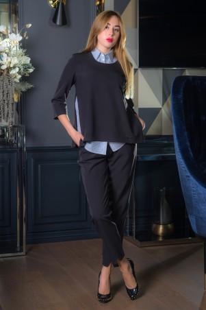 First Land Fashion. Костюм тройка (брюки, блуза, джемпер Джокер. Артикул: БКД 0352