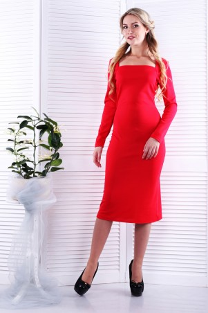 Alpama. Платье красное. Артикул: SO-13230-RED