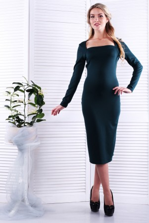 Alpama. Платье зеленое. Артикул: SO-13230-GRN