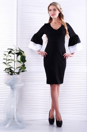 Alpama. Платье черное. Артикул: SO-13228-BLK