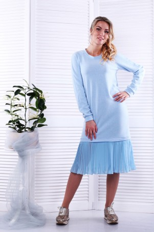 Alpama. Платье голубое. Артикул: SO-13229-CYP