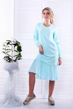 Alpama. Платье мята. Артикул: SO-13229-MNT