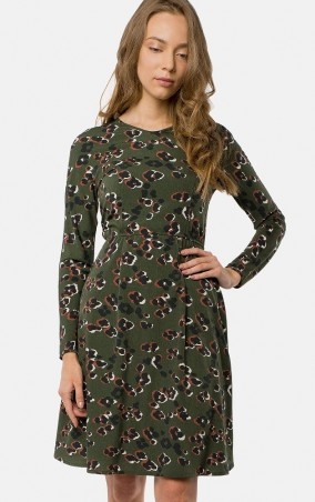 MR520: Платье MR 229 2429 0817 Dark Olive - главное фото