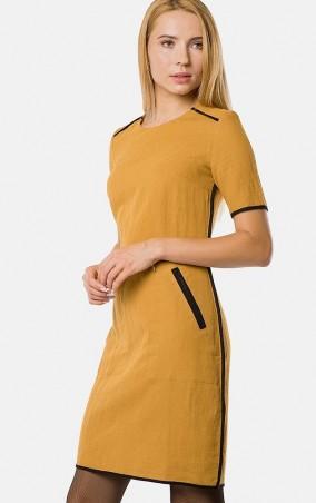 MR520 Women: Платье MR 229 2431 0817 Mustard - главное фото