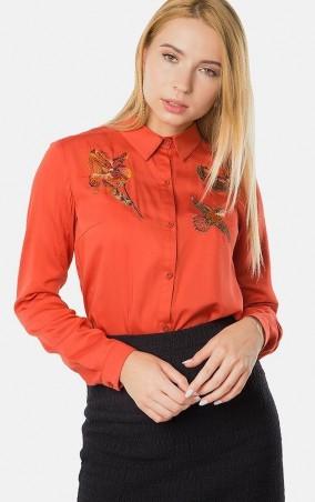MR520: Рубашка MR 223 2446 0817 Dark Orange - главное фото