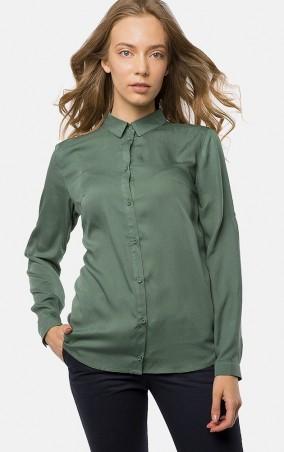 MR520 Women: Рубашка MR 223 2447 0817 Dark Emerald - главное фото