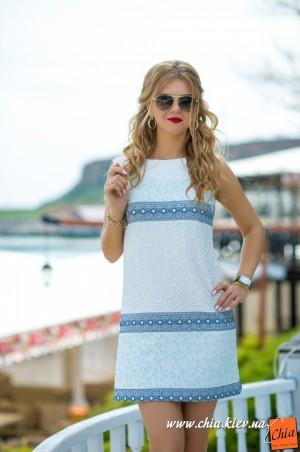 Bisou: Платье голубое 7578 - главное фото