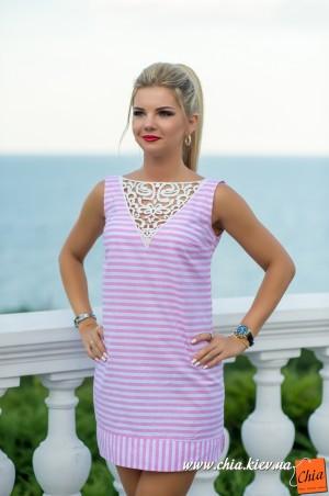 Bisou: Платье розовое 7588 - главное фото