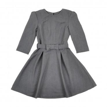Timbo: Платье Jasmine рукав 3/4 пояс ткань P029801 - главное фото