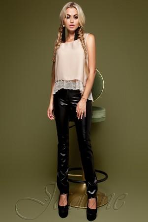 Jadone Fashion: Брюки кожанные Локси - главное фото
