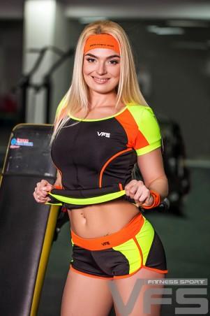 Vision Fitness Sport. Шорты для фитнеса низкие «Seven PRO». Артикул: 17916 OE