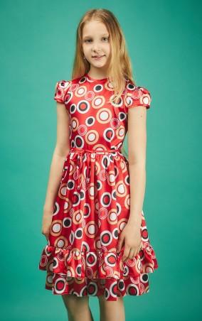 Sauliza. Подростковое платье Анюта. Артикул: 1д