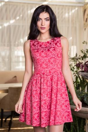 Sauliza. Платье Марго красного цвета. Артикул: 769-2