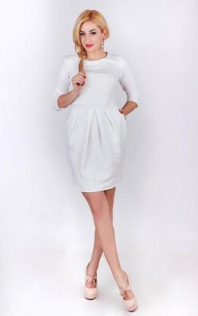 Sauliza. Женское платье Жаклин молочный. Артикул: 762-2