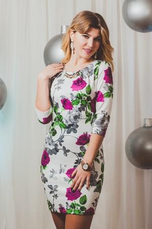 Sauliza. Платье Розалина белый. Артикул: 758