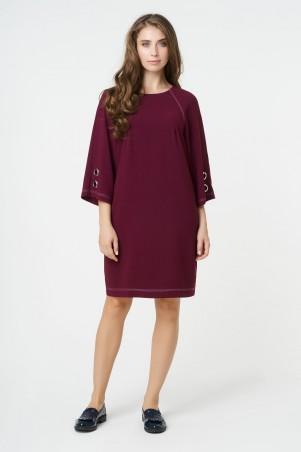 RicaMare. Однотонное повседневное платье. Артикул: RM355-B-17DD