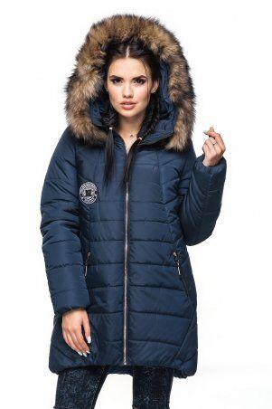 Кариант. Куртка зима. Артикул: Берта синий