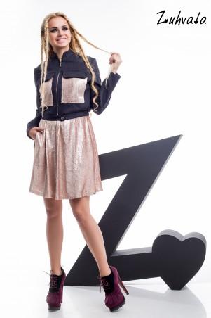 Zuhvala. Комплект(платье+курточка). Артикул: Джаз