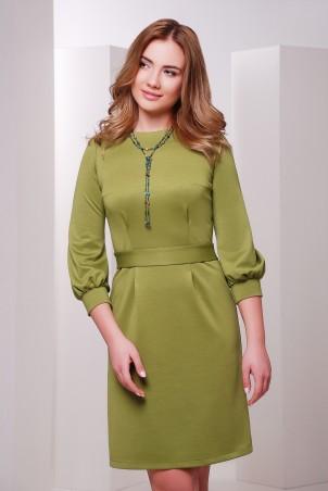 MarSe. Платье. Артикул: 1701 оливковый