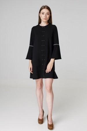 Kaiza. Платье 7970 - АШАН чёрный. Артикул: 797017BL413DR