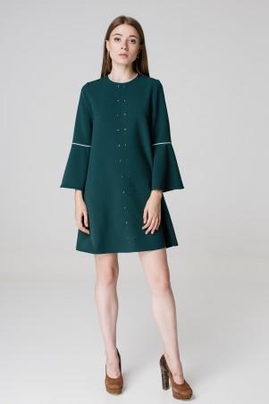 Kaiza. Платье 7970 - АШАН тёмно-зелёный. Артикул: 797017BG413DR