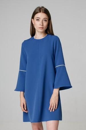 Kaiza. Платье 7970 - АШАН бриллиантово-синий. Артикул: 797017BB413DR