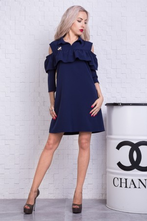 Sauliza. Платье синее. Артикул: 7125-1