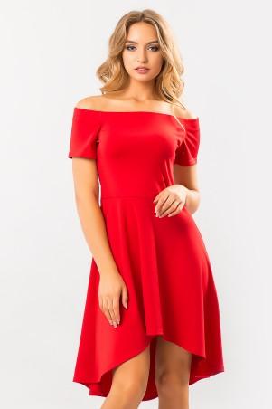 Garda. Красное Платье С Открытыми Плечами Неаполь. Артикул: 300251