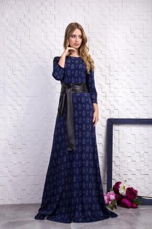 Sauliza. Платье синее. Артикул: 727-5