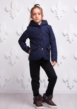 Sofia Shelest. Куртка Женева синяя подросток. Артикул: 000351