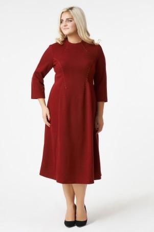 RicaMare. Классическое платье ниже колена. Артикул: RM1765-17DD