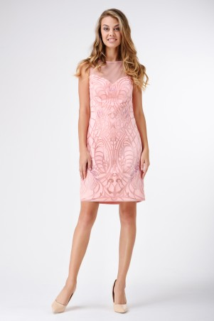 RicaMare. Нарядное коктейльное платье. Артикул: RM1130_12