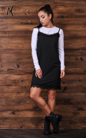 Mila Merry: Комплект (платье+футболка) 665 - главное фото