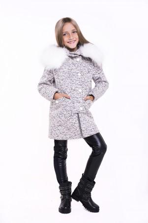Sofia Shelest. Пальто Рикки серый. Артикул: 000457