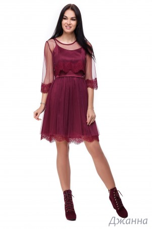 Angel PROVOCATION. Платье+накидка. Артикул: ДЖАННА