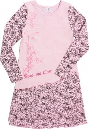 Valeri-Tex. Ночная сорочка с длинным рукавом. Артикул: 1743-55-140-027