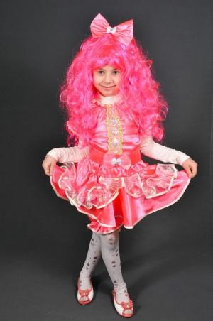 Leader Class Plus: Карнавальный костюм Конфета/Куколка (розовая) - главное фото
