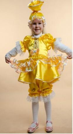 Leader Class Plus. Карнавальный костюм. Артикул: Конфета/Куколка (желтая)
