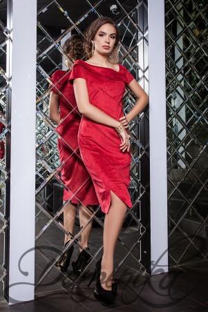 Daminika: Платье из замши Olly 11631 K - главное фото